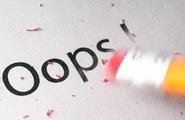 L'errore in psicologia e la psicologia dell'errore
