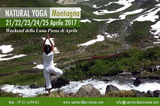Weekend aprile 2017 in montagna, tra yoga, natura e purificazione