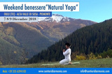 "Weekend benessere ""Natural Yoga"" in montagna"