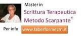 Master in Scrittura terapeutica – Metodo Scarpante®