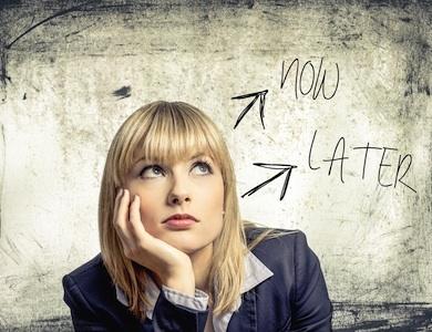 Percezione del tempo: perché procrastinare?