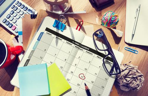 Come organizzare un planning settimanale (e sopravvivere agli impegni)